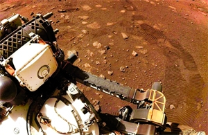 Mars rover Perseverance takes first spin on red planet