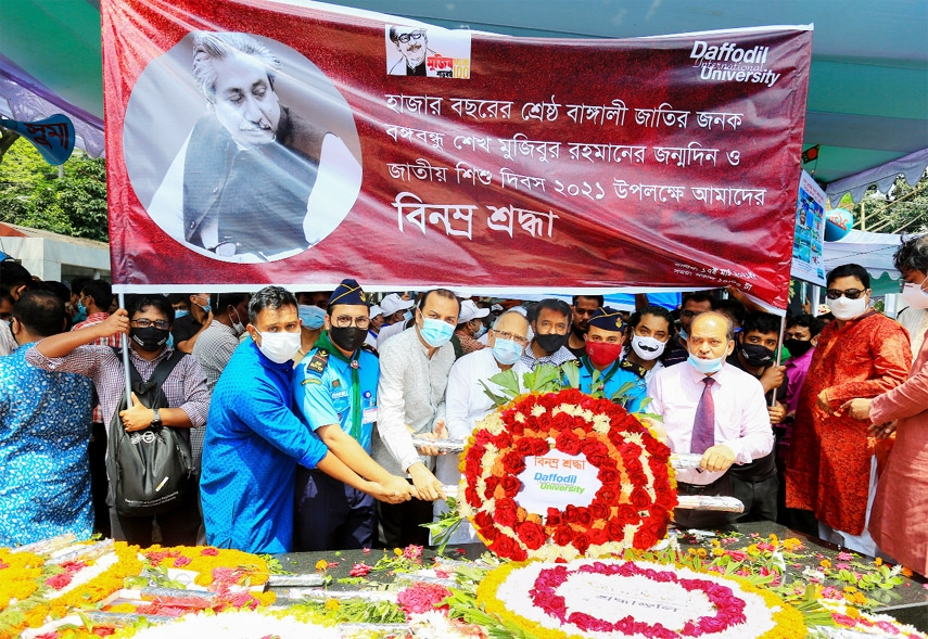 DIU pays homage to Bangabandhu, holds virtual discussion