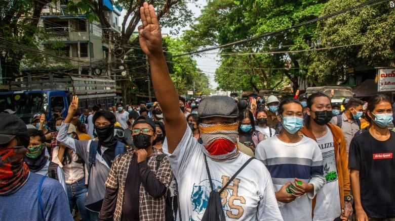 16 protesters killed in Myanmar on 'day of shame for armed forces'