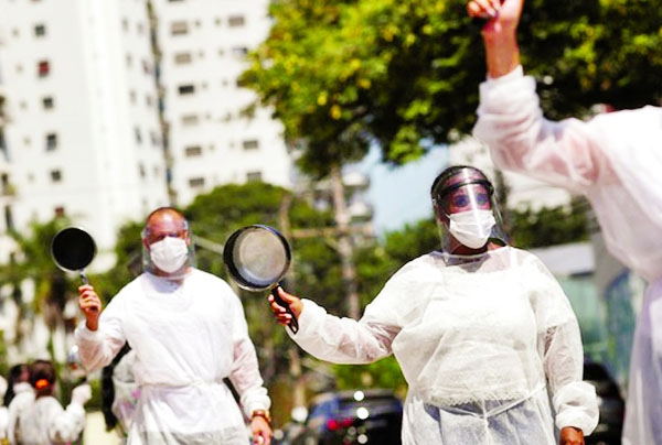 Brazil posts record 3,650 new Covid deaths