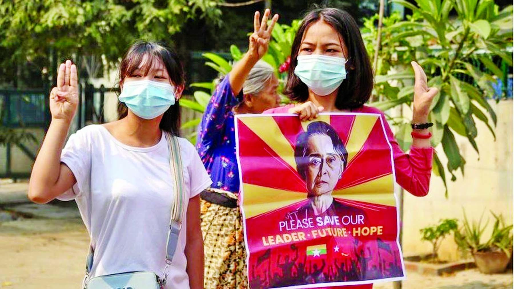 Myanmar Generals partied amid global fury over massacre