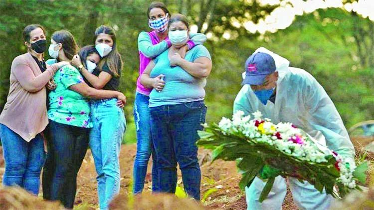 Brazil's March Covid death toll tops 60,000