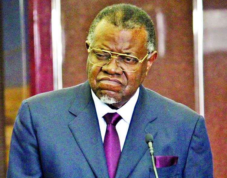 Namibian president caught in corruption allegations