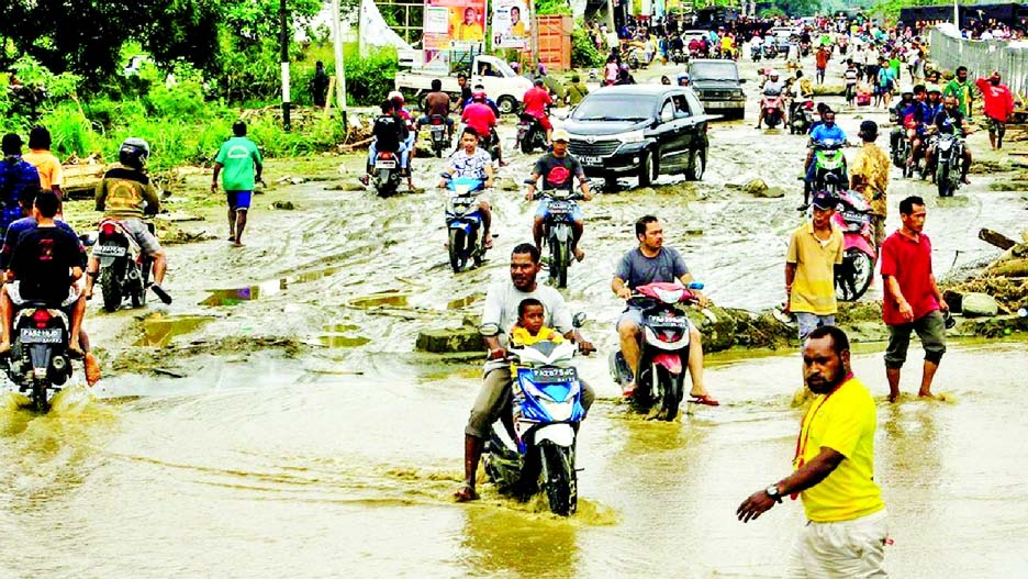 Indonesia flash floods kill 44, toll expected to rise