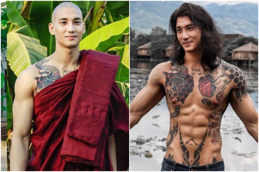 Myanmar celebrity model arrested amid coup crackdown