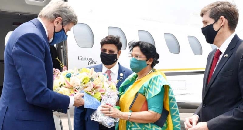 Kerry in Dhaka to convey Biden's commitment to environment
