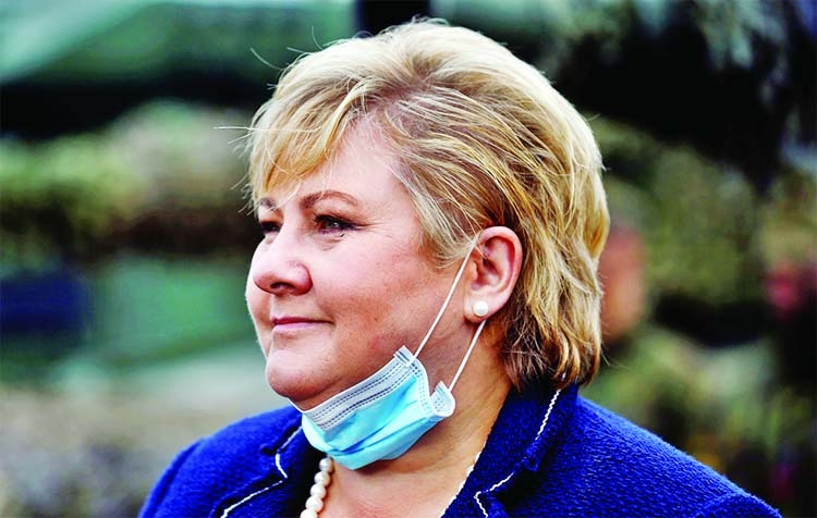 Norway PM fined by police over virus rules violation