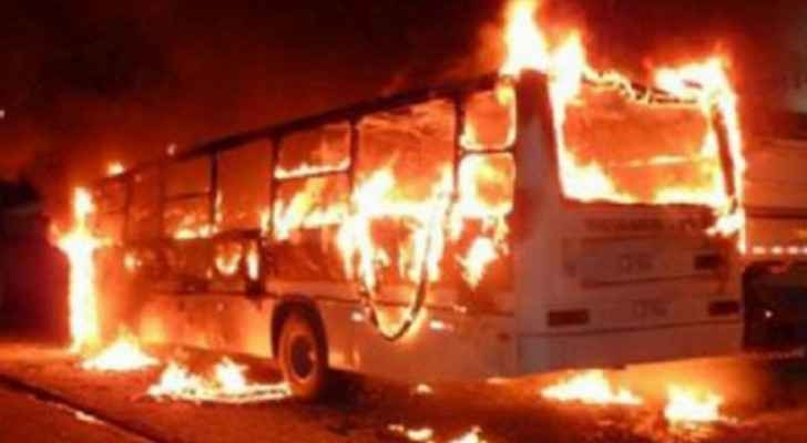 40 burned alive as bus overturned and caught fire in Congo