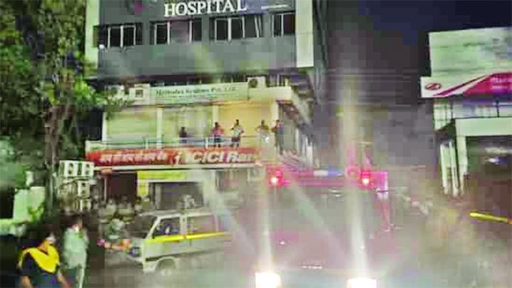 4 dead in massive blaze at Nagpur's Covid-19 hospital