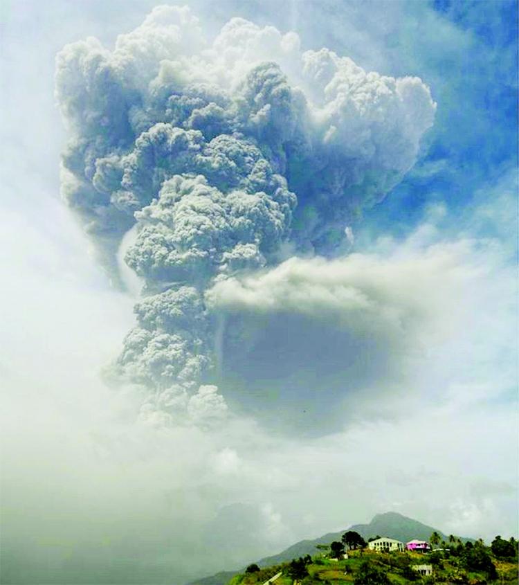 Saint Vincent volcano: 'Explosive' Soufrière eruption sparks mass evacuation