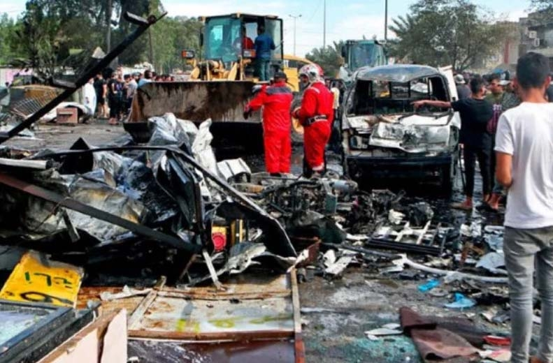 Car bomb blast kills 4 in Baghdad