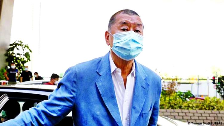 Jimmy Lai among 5 Hong Kong democracy activists jailed