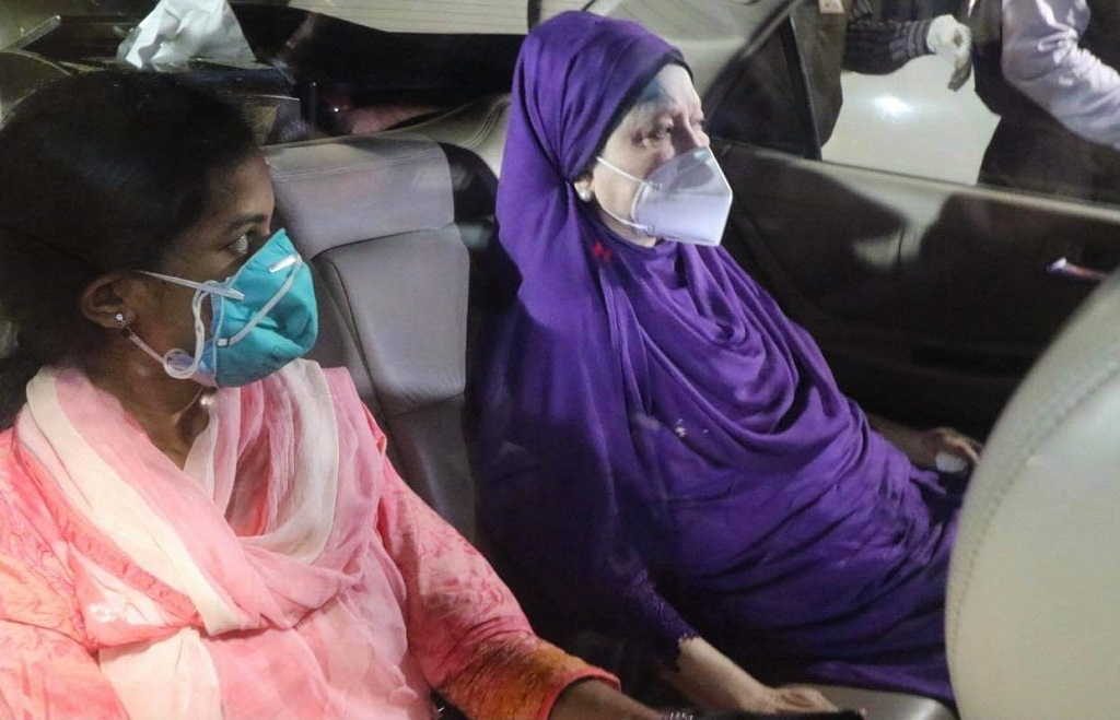 Khaleda's condition improves a little bit: Doctor