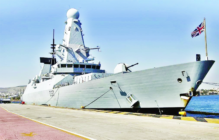 Two British warships to head for Black Sea in May
