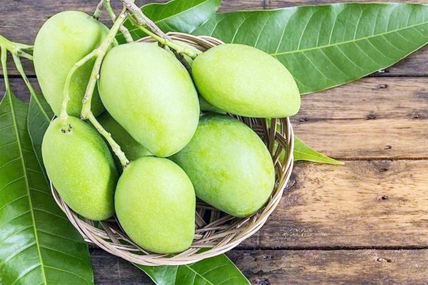 Green mango for healing 16 complex diseases