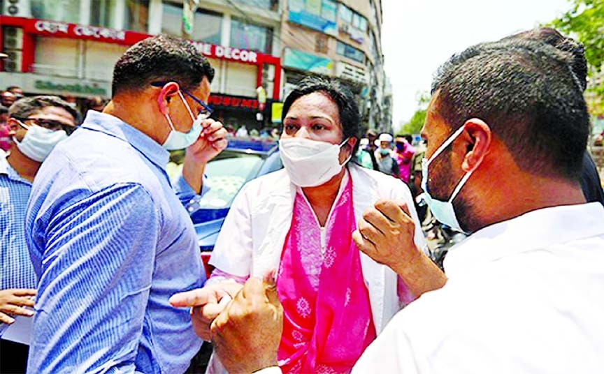 Doctors condemn alleged harassment by police