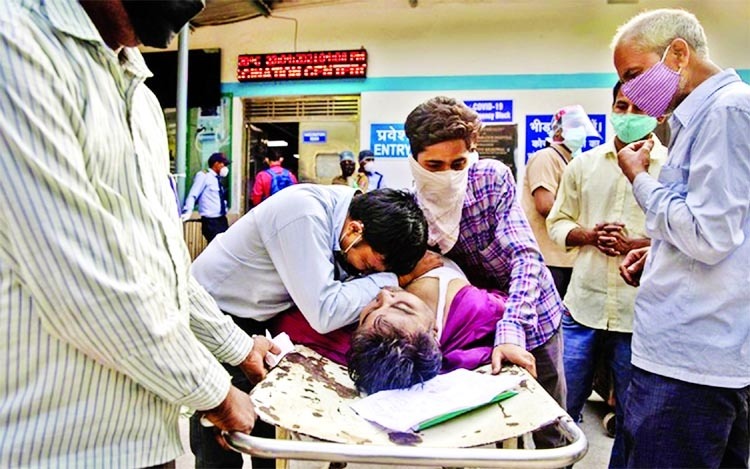 Indian hospitals send SOS as record  Covid deaths registered