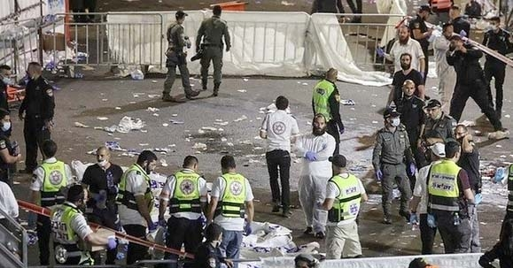 Crush at Israeli religious festival kills 44