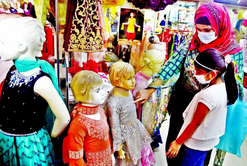 Eid markets start gaining pace as festival nears