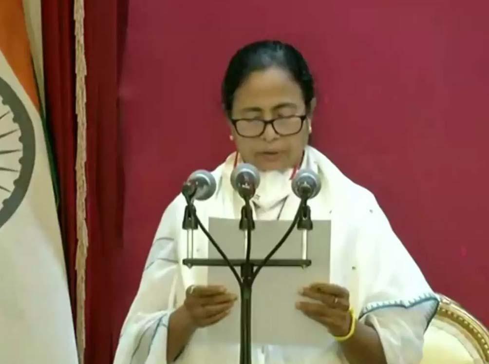 Mamata Banerjee sworn in as Bengal CM