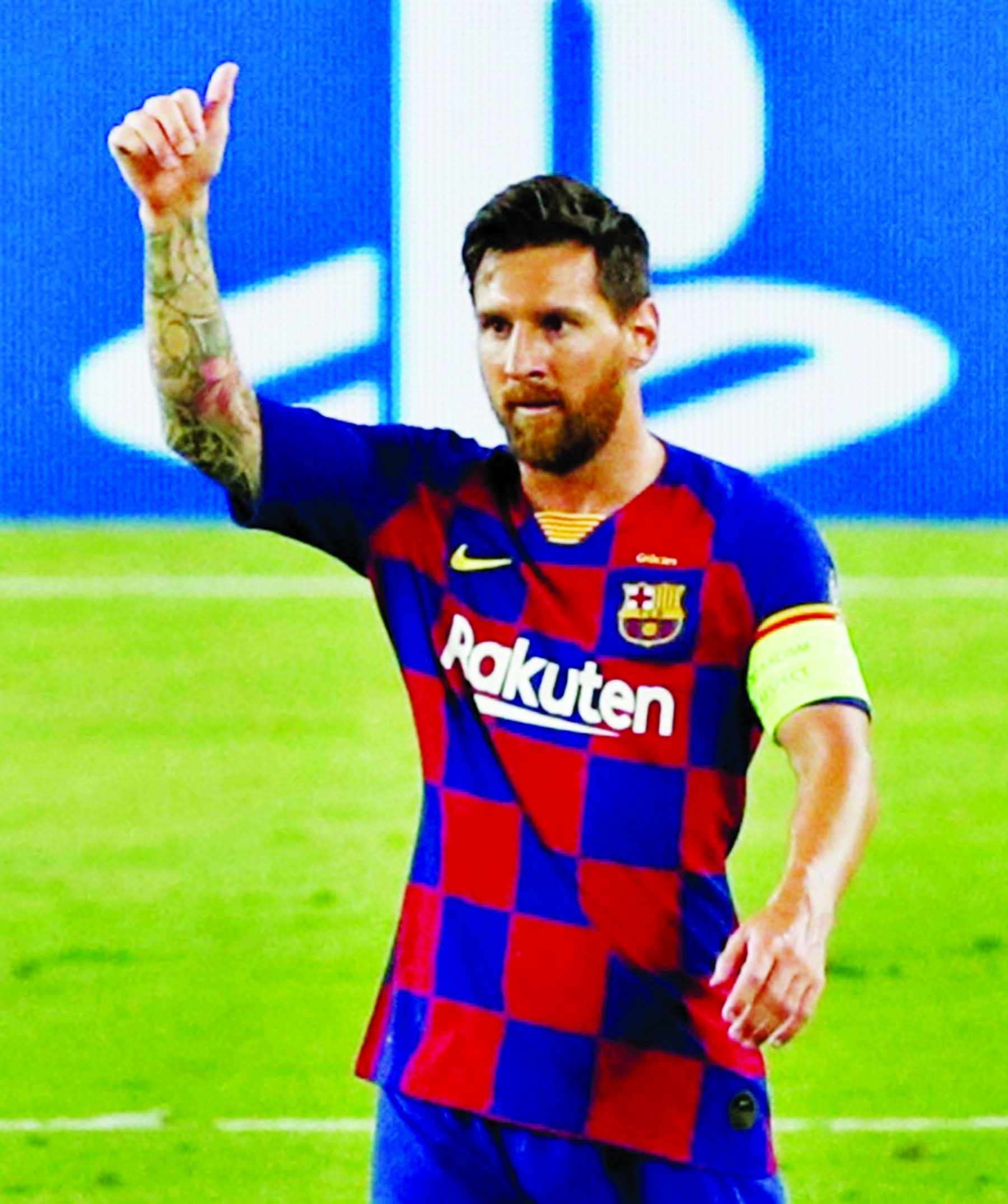 Barca meal could spell trouble for Messi over health protocol breach