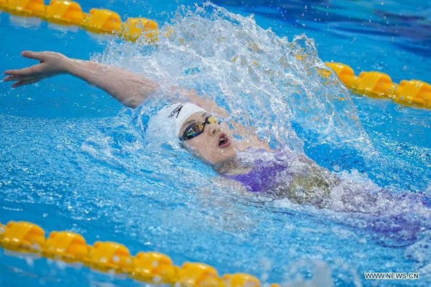 Youth swimmer Yu Yiting breaks world junior record twice in 2 days