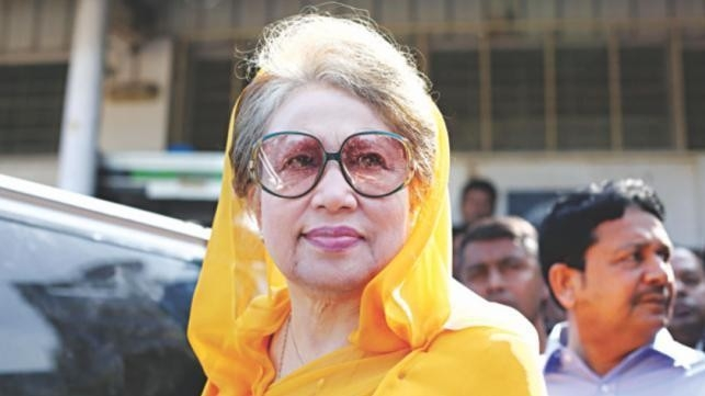 Khaleda's treatment abroad depends on court: Home Minister