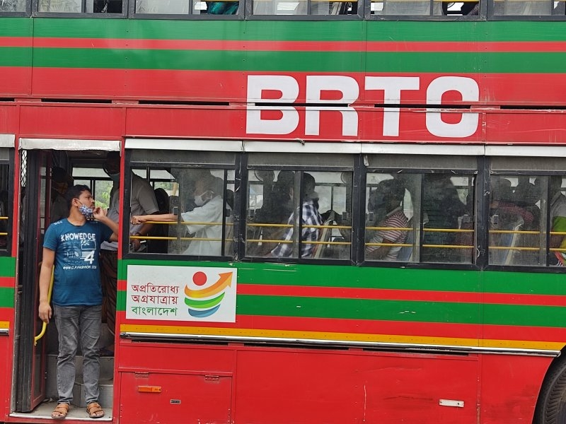 Town service transport resumes after 22 days of shut down