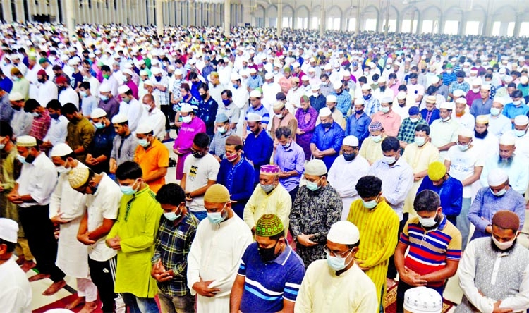 Juma'atul Wida observed