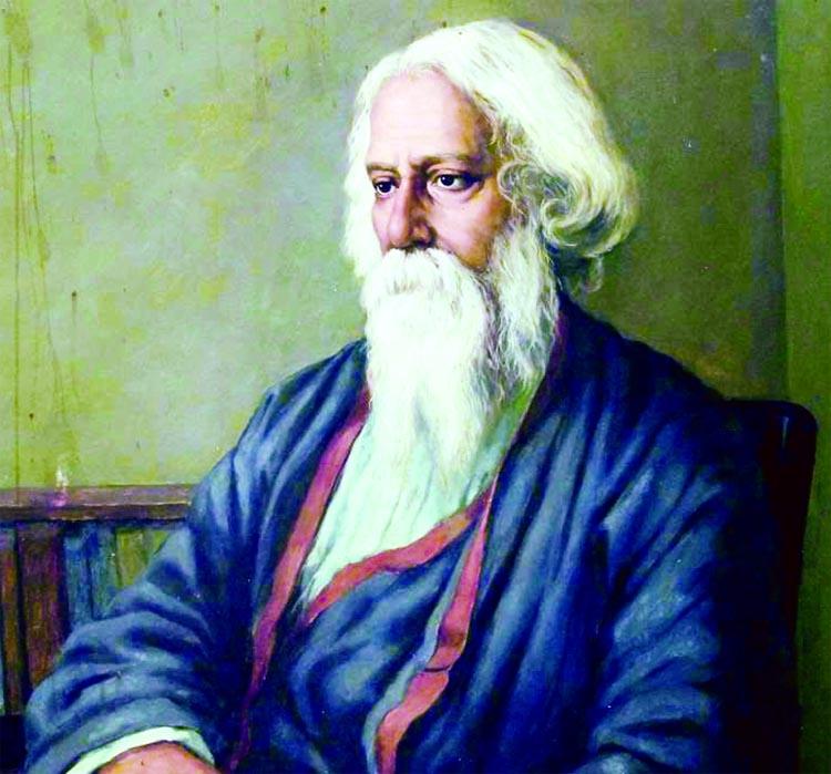 Tagore's 160th birth anniv today