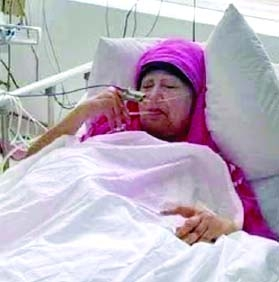 Khaleda's condition improving but not out of danger: Doctor