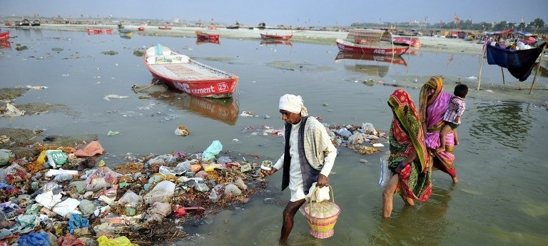 45 decomposed bodies found floating in Ganga
