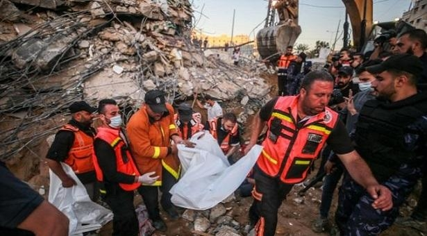 Death toll from Israeli raids in Palestine rises to 149