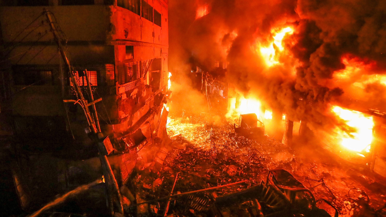 5 burn injured  in Chattogram blast
