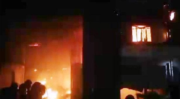 Fire breaks out at Gazipur knitting factory