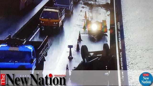 Two killed in road mishap on Bangabandhu Bridge