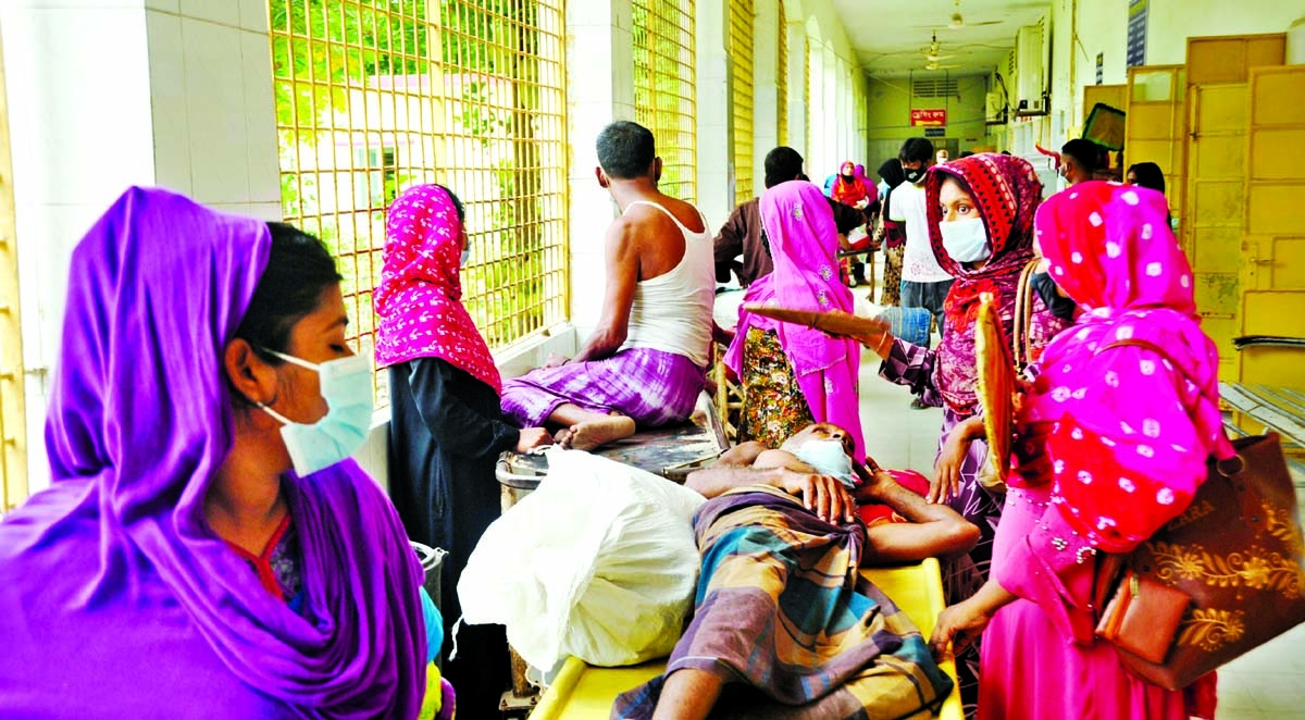 Pandemic situation worsening 13 more die of Covid at RMCH