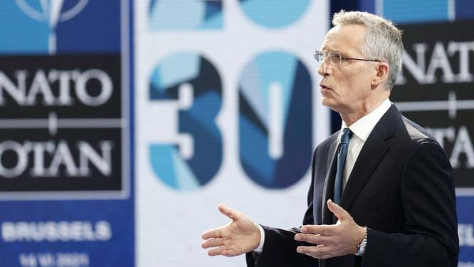 Nato summit: No new Cold War with China, military alliance chief says