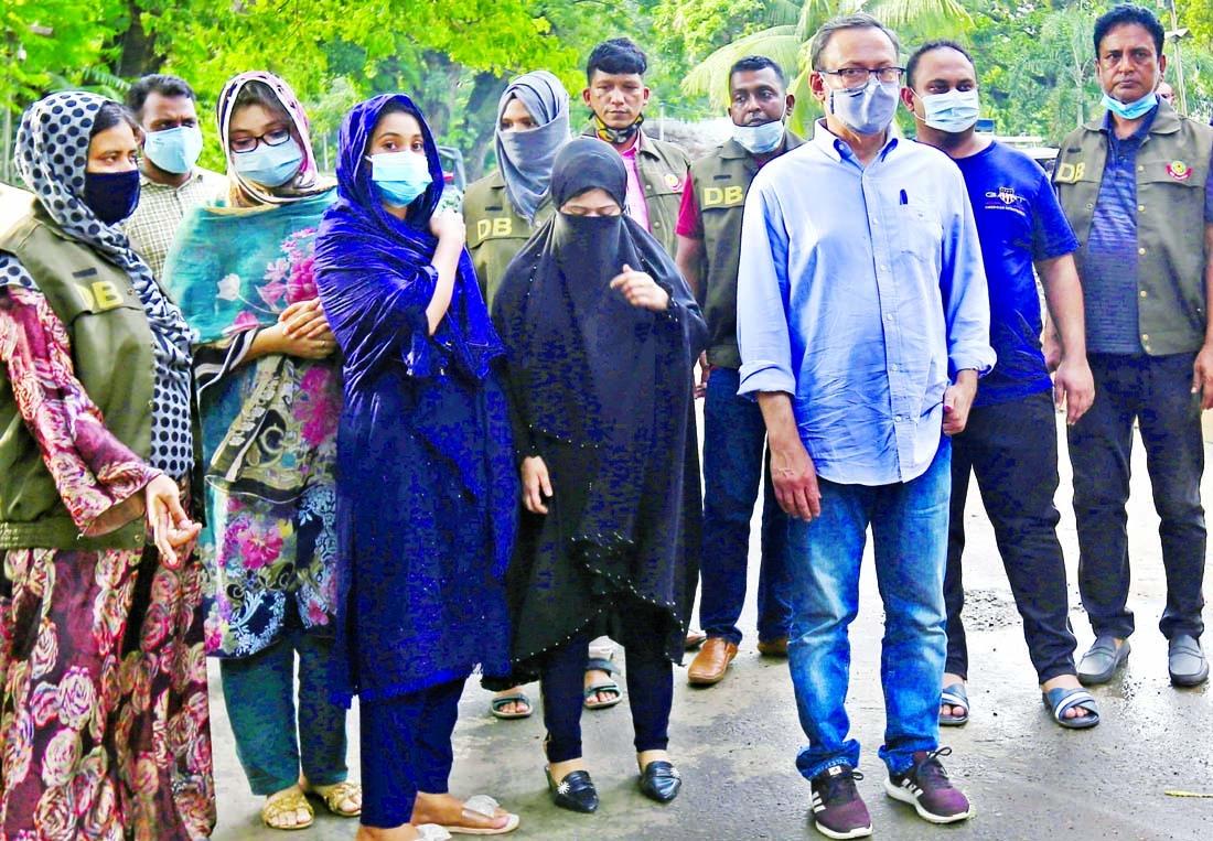 Nasir among 5 held over rape attempt on Pori Moni