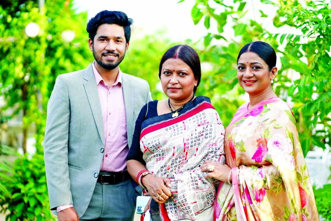 Sweety, Khairul Basar work Chayanika's direction