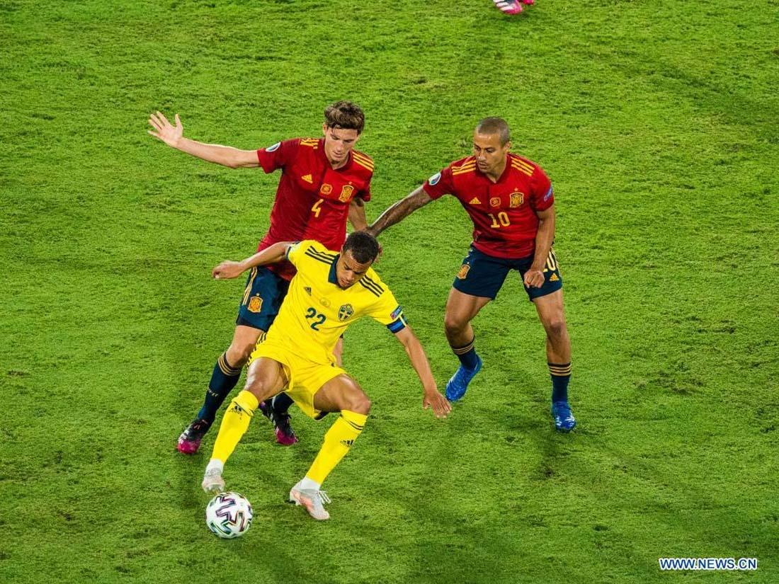 Spain held by Sweden, Czech Republic win at Euro 2020
