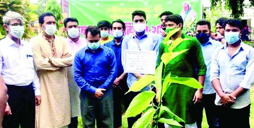 Tree plantation programme opens in Manikganj