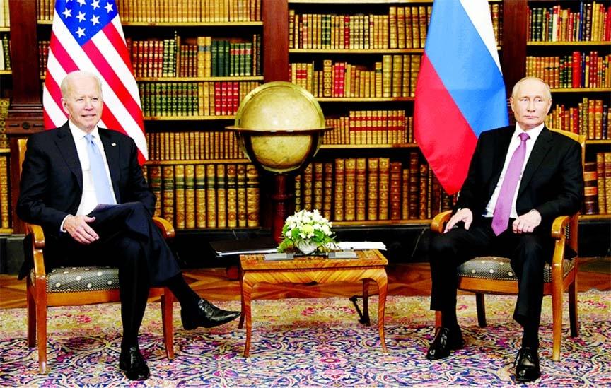 Biden, Putin move to second phase of tense meeting in Geneva