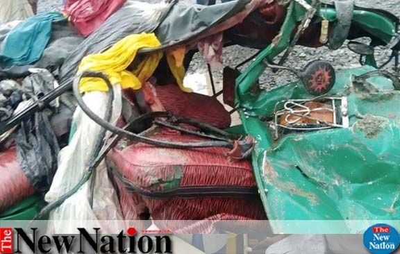 3 of a family killed in accident in Bogura