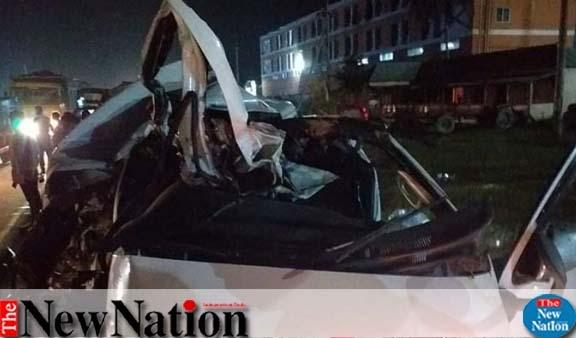 Narsingdi road crash leaves five dead