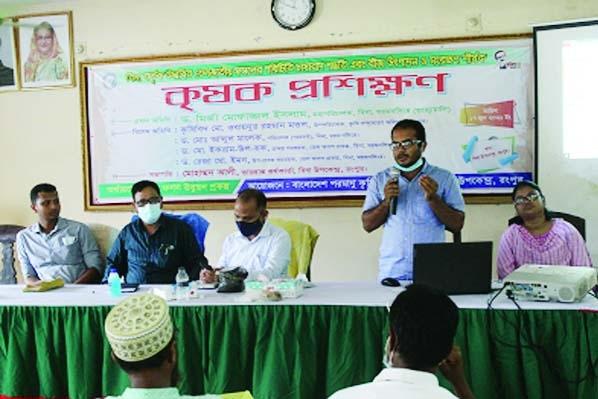 Training makes Rangpur farmers grow more oil crops