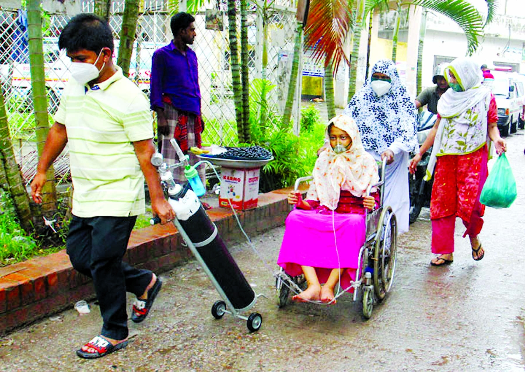 Covid spreads to rural areas of  frontier districts Pandemic situation continues to deteriorate