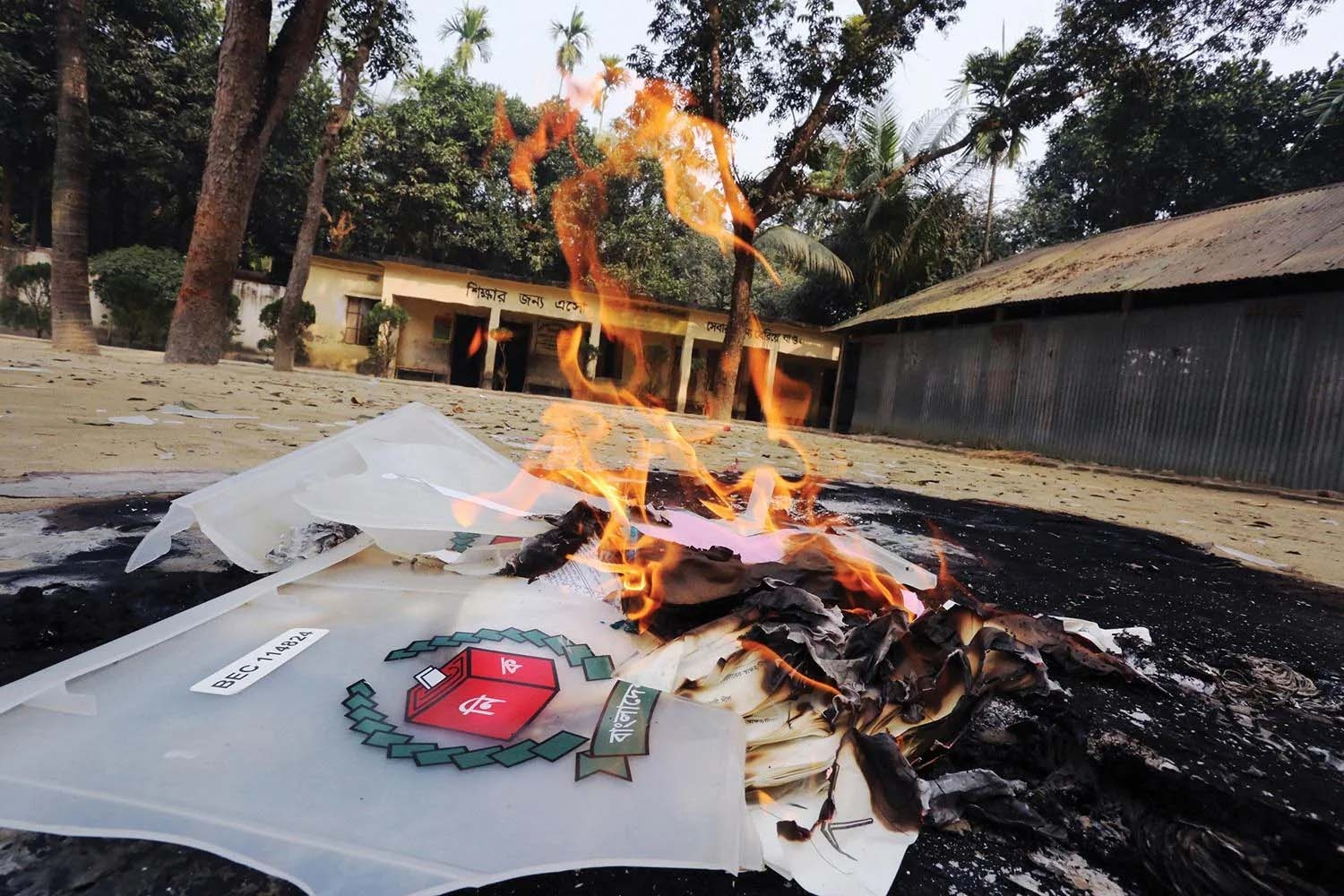 Bhola UP election violence leaves one dead