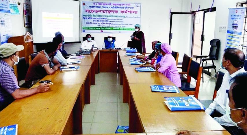 Workshop on maternal mortality at Shibalaya