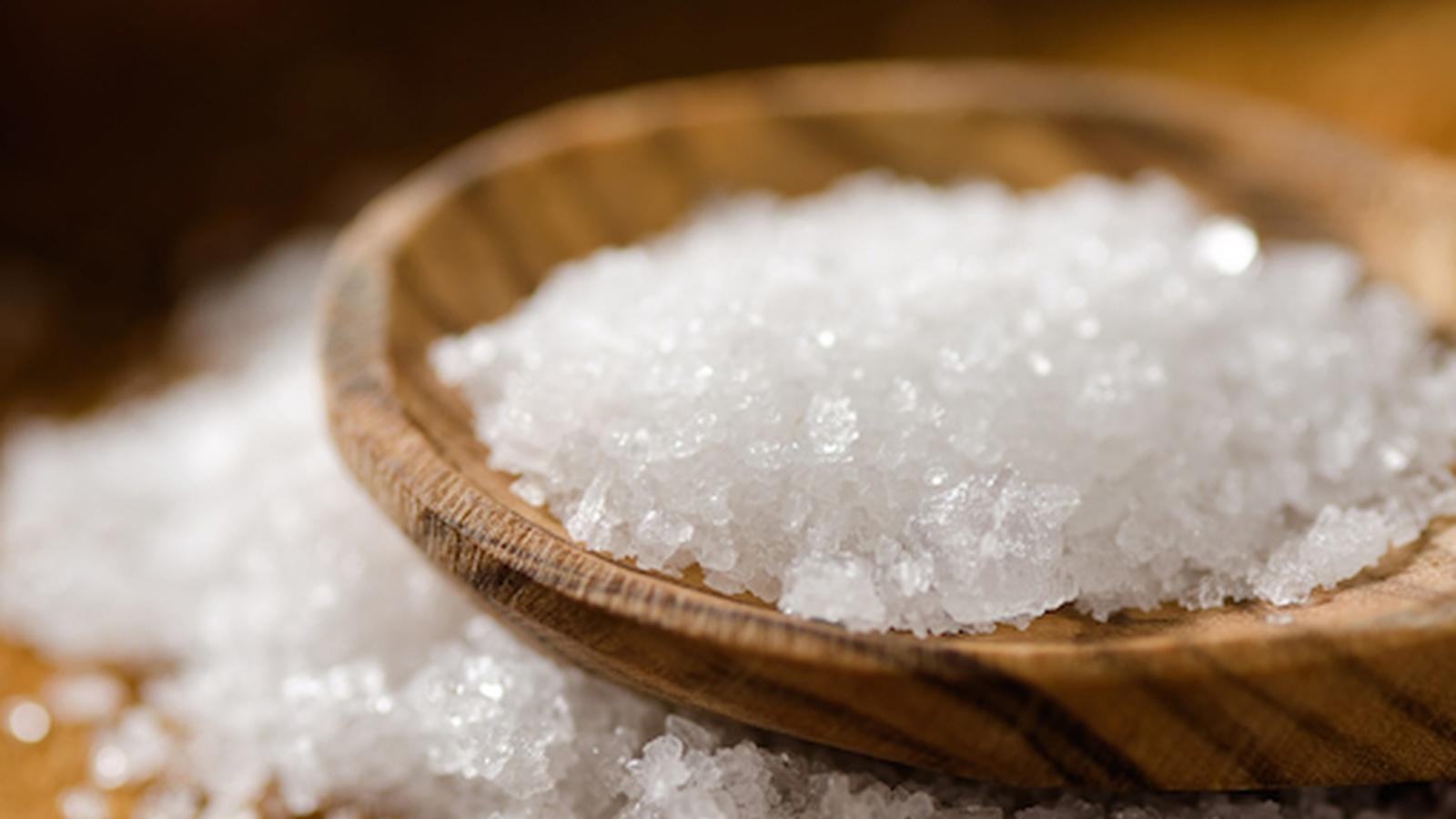 Toxic industrial salt in our menu